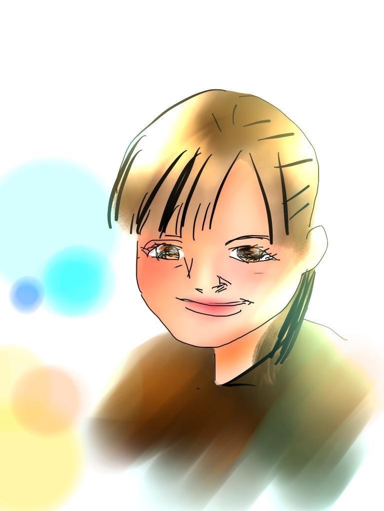 似顔絵アイコンを写真からお描きします レトロな雰囲気のイラストをアイコンにしてみませんか?
