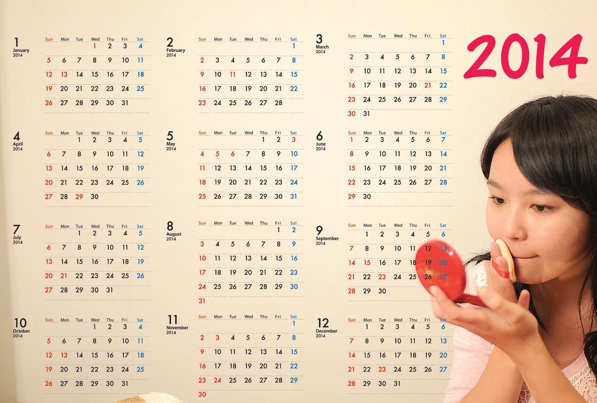 ◆2015年版ポストカードカレンダーの版下作ります!