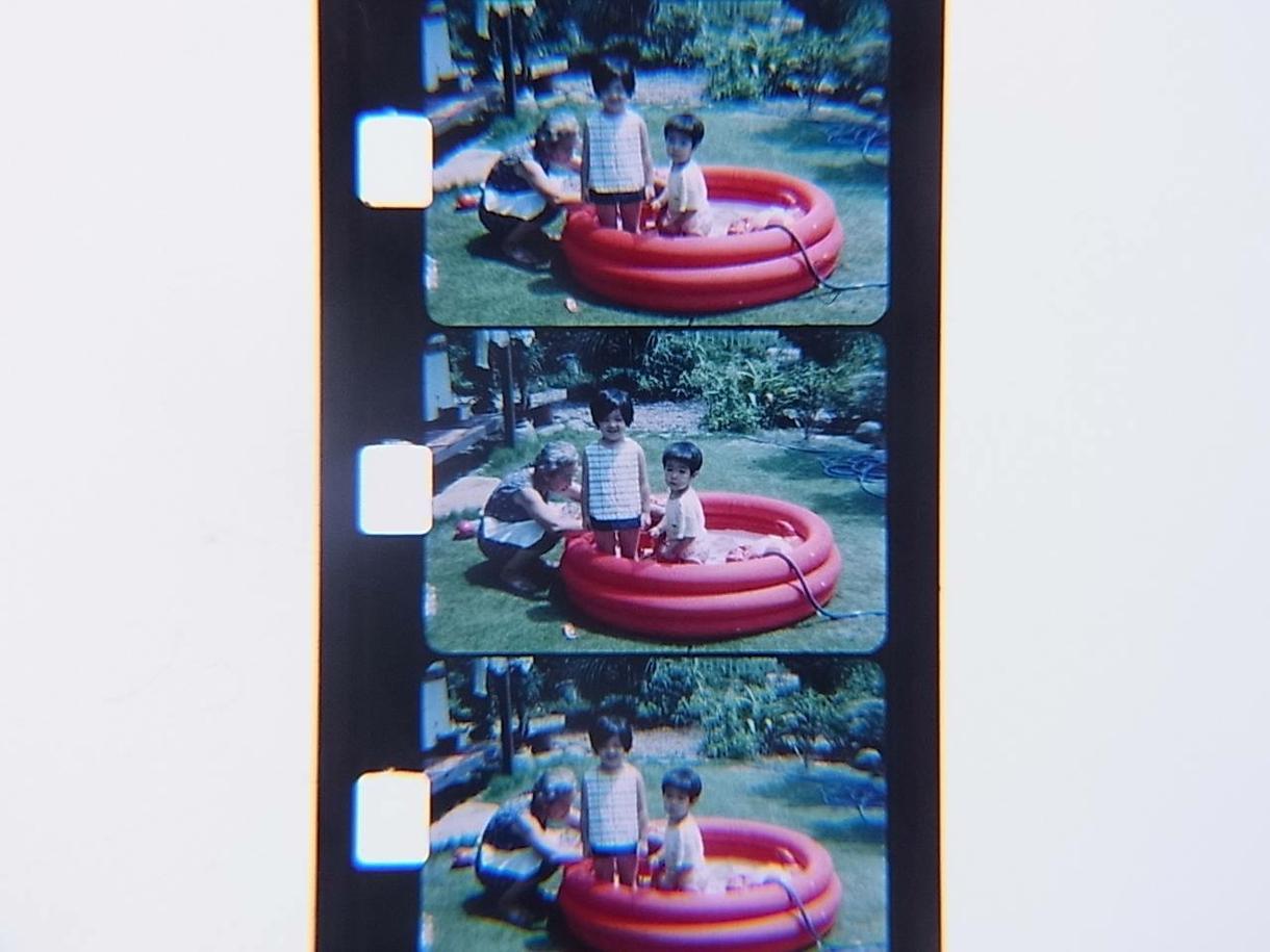 8ミリフィルム(8mmフィルム)の調査をします むかし撮った8ミリフィルム。何が写っているか確認したい方に。