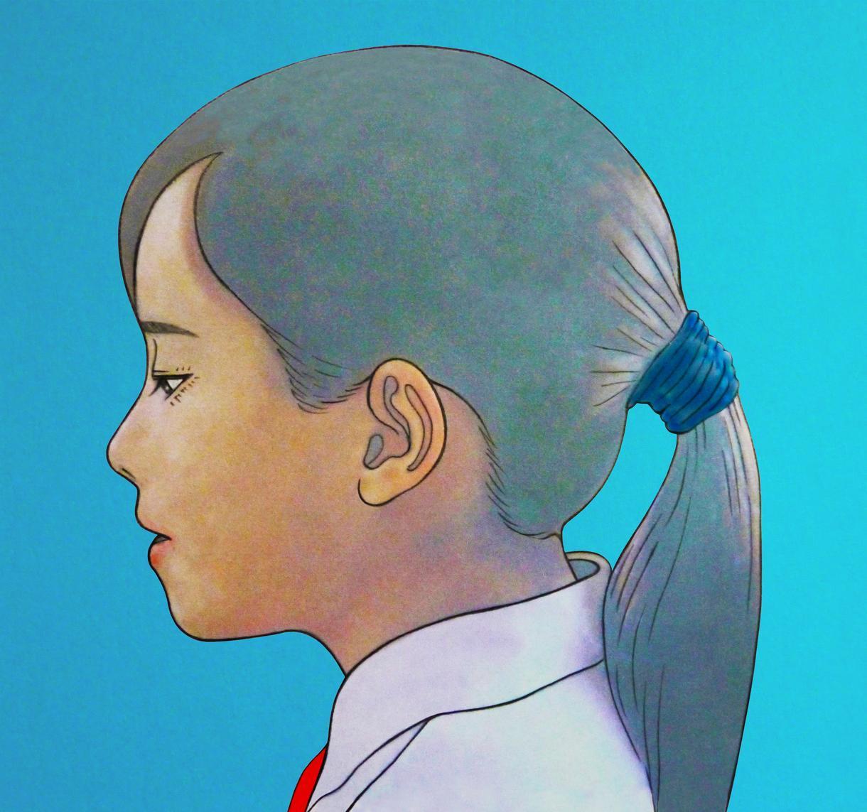 似顔絵イラスト作成します 優しい印象の、水彩タッチで描きます。