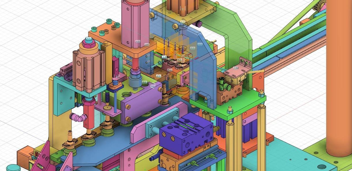 3D-CAD モデリング 図面制作承ります 機械設計メカエンジニアによる3Dモデルの代行設計補助致します イメージ1