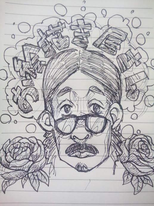 イラスト描きます、シュールなイラスト、似顔絵、挿絵、キャラ作成