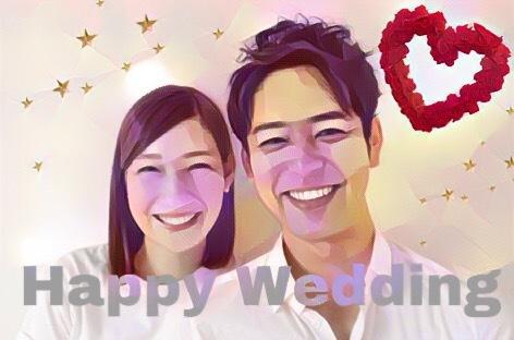 Weddingボードにも♡素敵にイラスト化します プレゼントに!SNSのTOPに!素敵な思い出をもっと素敵に! イメージ1
