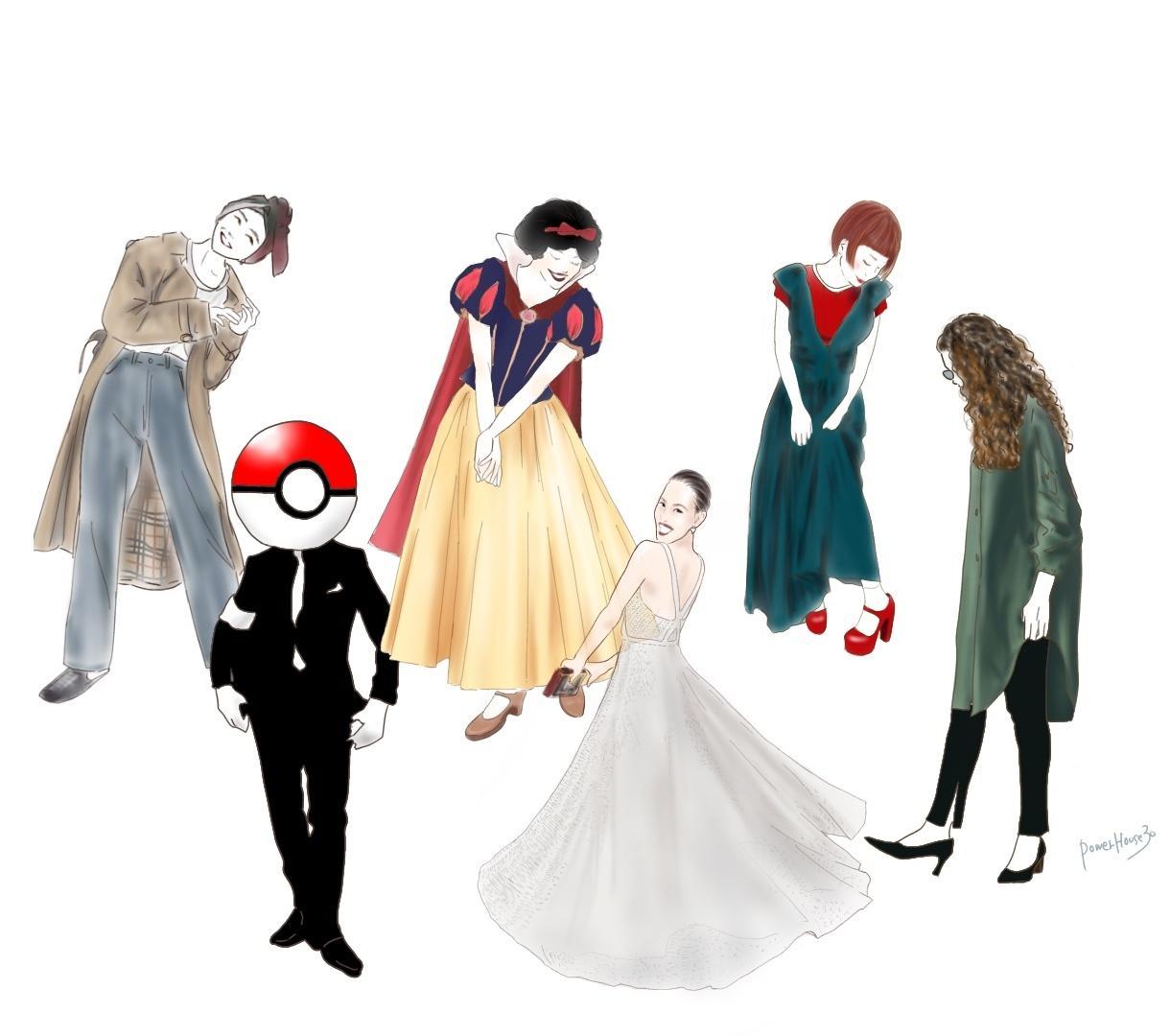 スナップイラスト・ファッションイラストお描きします SNSアイコンや挿絵、ワンポイントに!