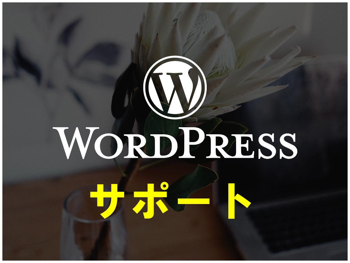 ワードプレスの修正・カスタマイズをします WordPressのちょっとした修正などお手伝いします イメージ1