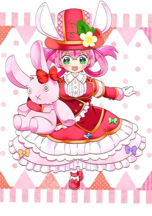 かわいい女の子キャラクター描きます 顔から肩までや、ミニキャラは3000円で一体描きます