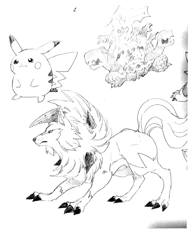 ラフ)キャラクターデザインいたします ケモノ、擬人化、クリーチャー…なんでも描きます!