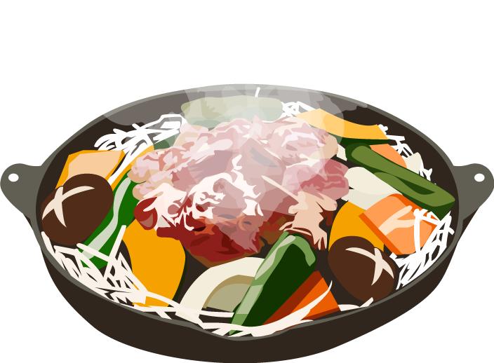 食べ物のイラスト作成します チラシやHPの挿絵やイメージ図など(商用利用OK)