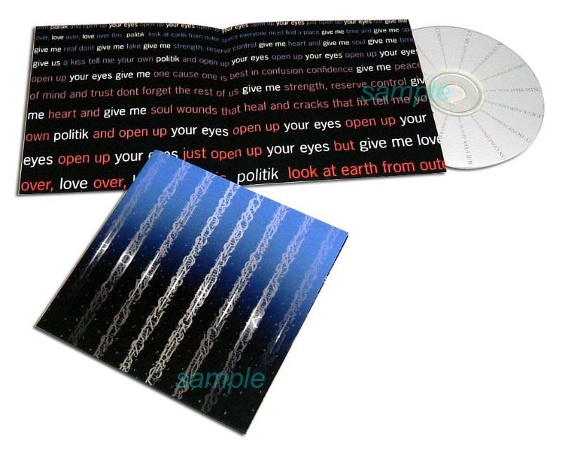 CD・DVDジャケットをデザインします ♪作品イメージを視覚から伝えます♪盤面、帯、レーベルもOK イメージ1