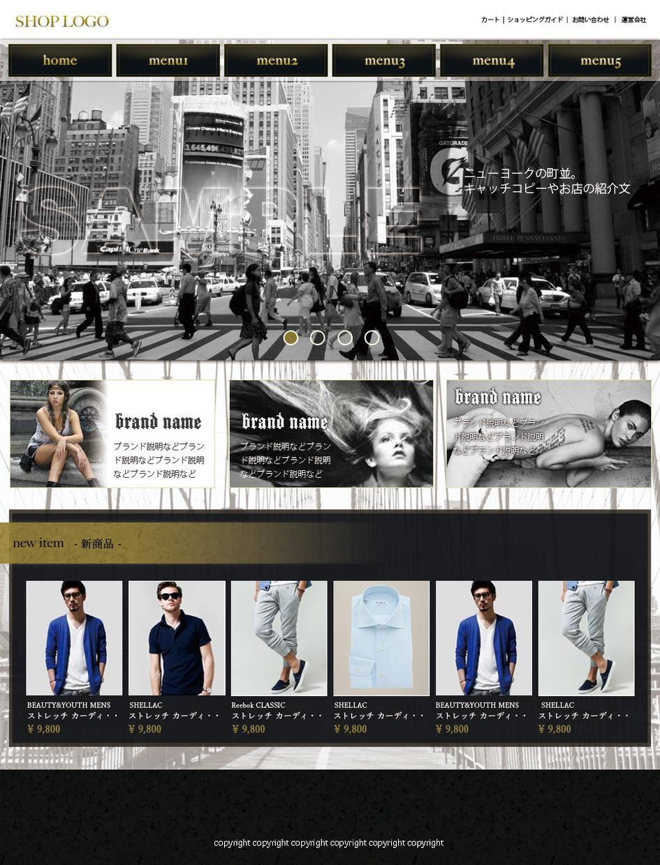 webサイトのリニューアルラフデザインいたします プロでフリーで生計を立てているweb製作家がお手伝いします