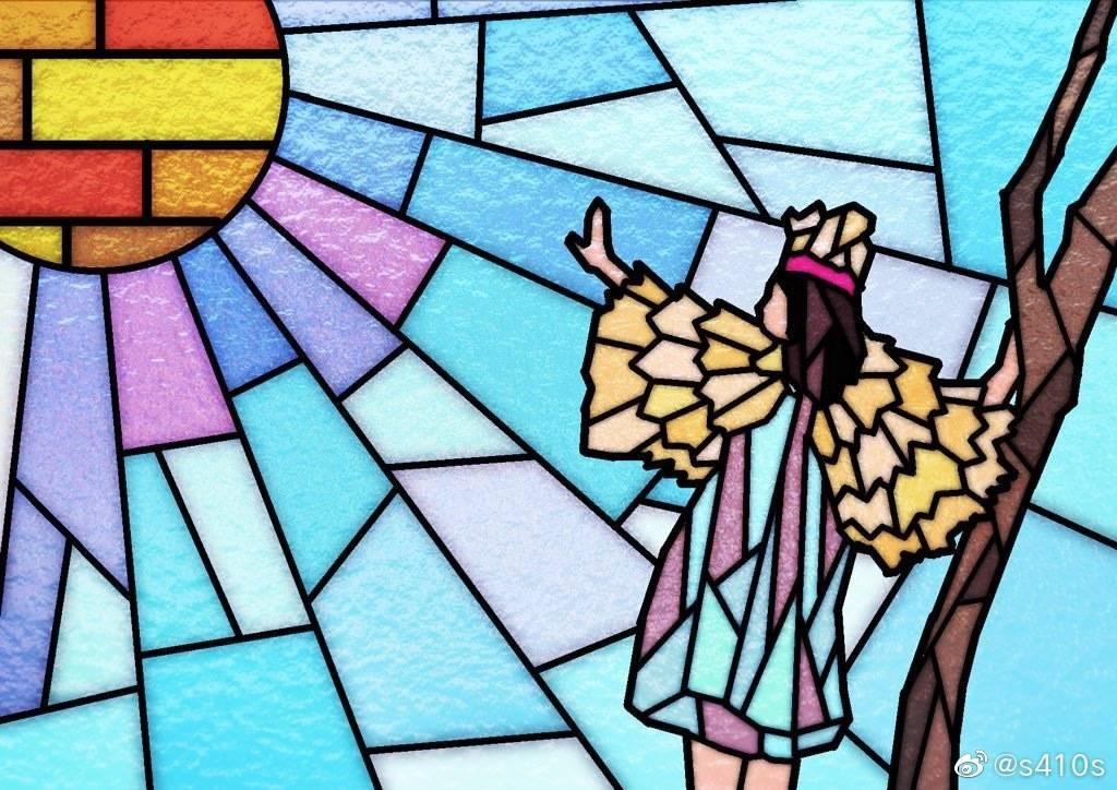 ステンドグラス風のイラストを作成します お気に入りの写真をステンドグラス風にしませんか?