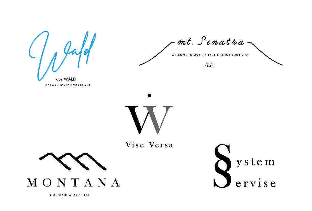 目を惹く、ハッとするようなロゴ制作します 一流アーティストデザイナーが提供する、洗練されたデザイン