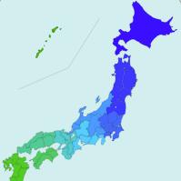 日本地図ブログパーツ 自由にリンク設定できます リンク先を自由に設定できる日本地図です。スマートフォン対応。