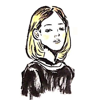 筆ペンで味のあるシュールな似顔絵(以外でもOK)を描きます!