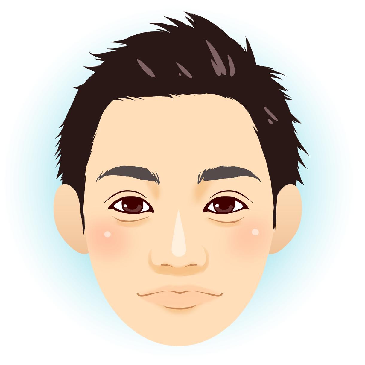 デジタルでマットな似顔絵お描きします ビジネスからプライベートまで!幅広くご活用いただけます!