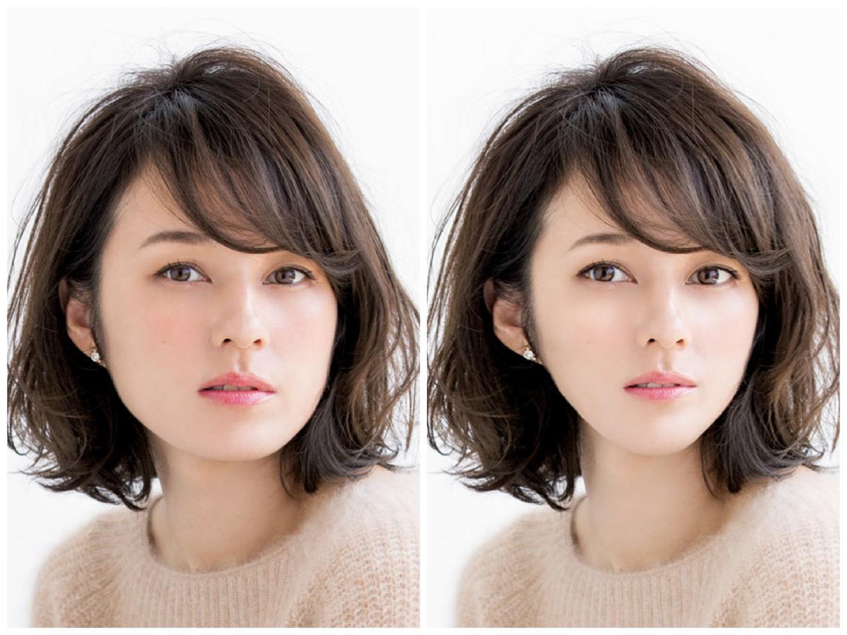 華々しく❀美しく編集いたします SNSのアイコン、美容整形のシミュレーション