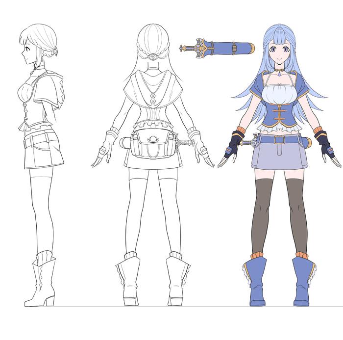 オリジナルキャラクターのイラスト制作します あなたの理想のキャラクターのイラストを描きます!