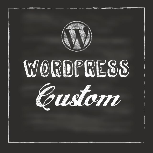 wordpressのカスタマイズ承ります 稼働済みwordpressテーマの軽いカスタマイズをします