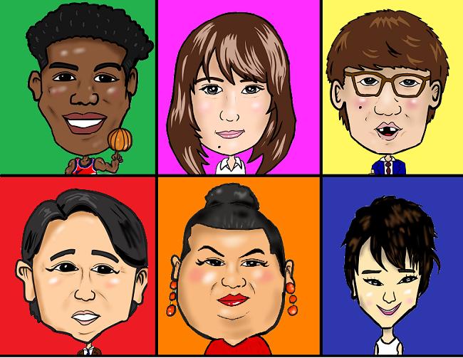 そっくり似顔絵を作成致します 名刺やプロフィール画像、SNSアイコンにも最適!