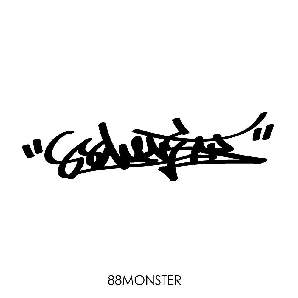オリジナルサイン デザインします 『グラフィティ』『オリジナルサイン』『タグ』『hiphop』 イメージ1