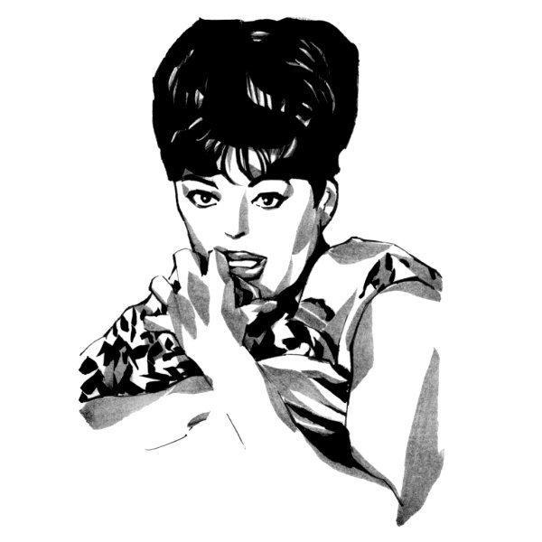 手描きイラスト / 筆ペンで描きます 画像を参考にアナログで描くイラスト・似顔絵・SNSアイコン