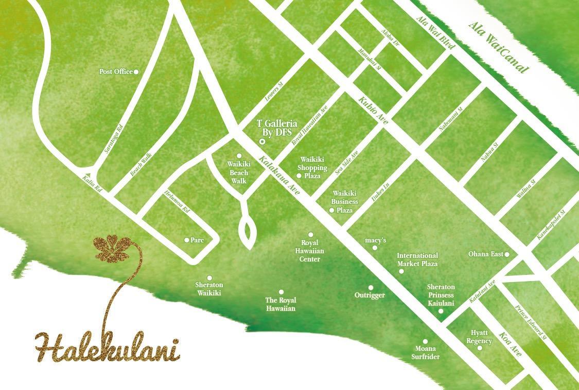 プロのデザイナーのセンスでシンプルな地図を作ります わかりやすく見やすい地図で確実な集客をお手伝い