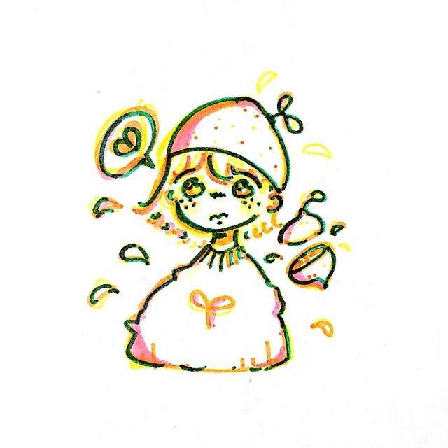 重ね色が可愛い!絵本風のロゴ・イラストを書きます 他とはちょっと違う、そんな絵が好きな方にオススメです໒꒱