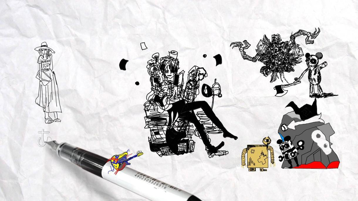 ミュージックビデオを制作します 個人やアーティストのMVをアニメーションで作成したい方