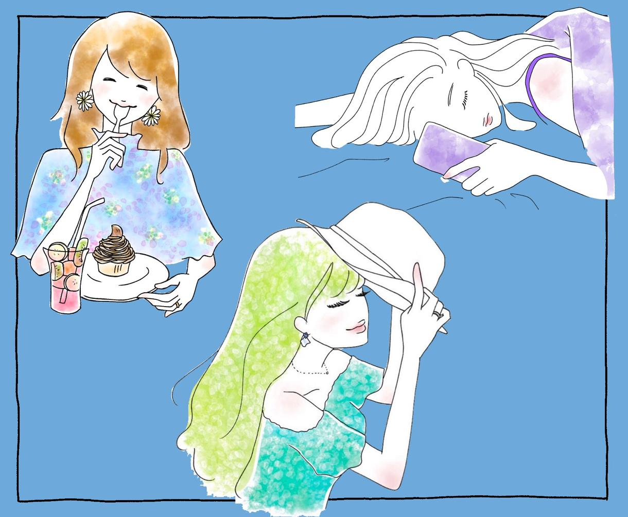 大切な思い出をイラストで♡オシャレに描きます #記念イラスト #プレゼント #思い出