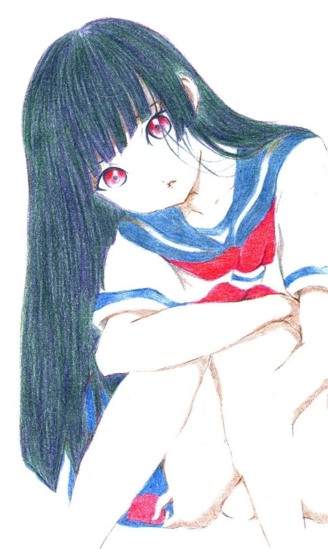 好きなアニメ画像を模写します お好きなアニメ画像を温かみのあるイラストに描きます