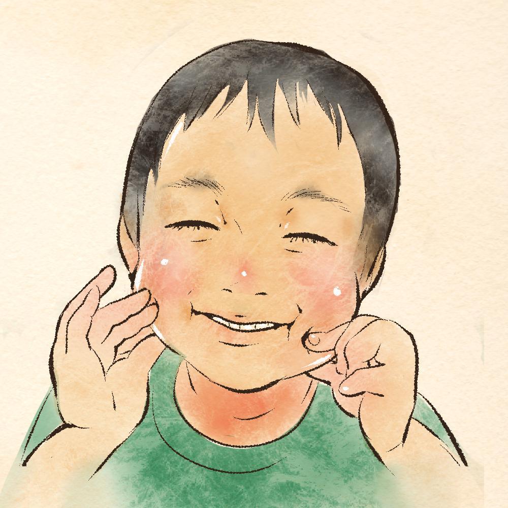 手書き風のほっこり優しい似顔絵書きます 心温まる手書き水彩風の似顔絵はいかがですか?