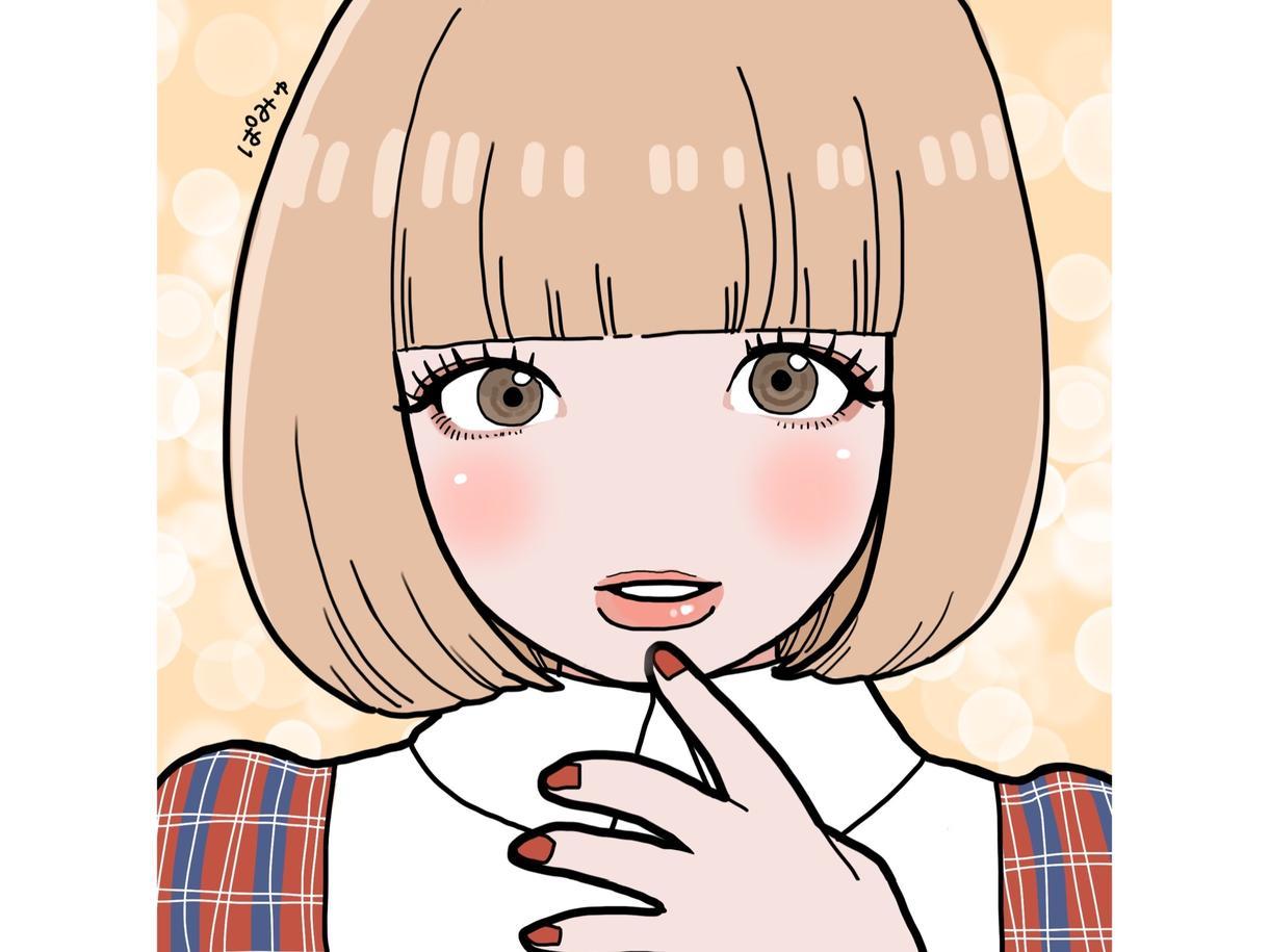 老若男女問わず、柔らかい印象の似顔絵描きます SNSのアイコン等にご利用ください!