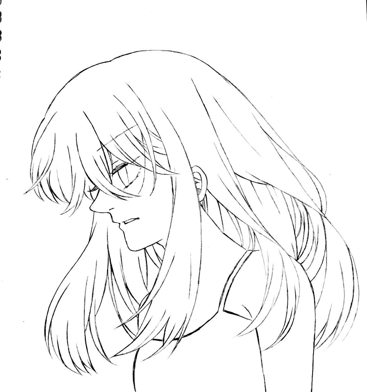 【アニメ好きな友達へのプレゼントに】頂いた写真をもとに、青年・少年漫画風の似顔絵を描きます【似顔絵】