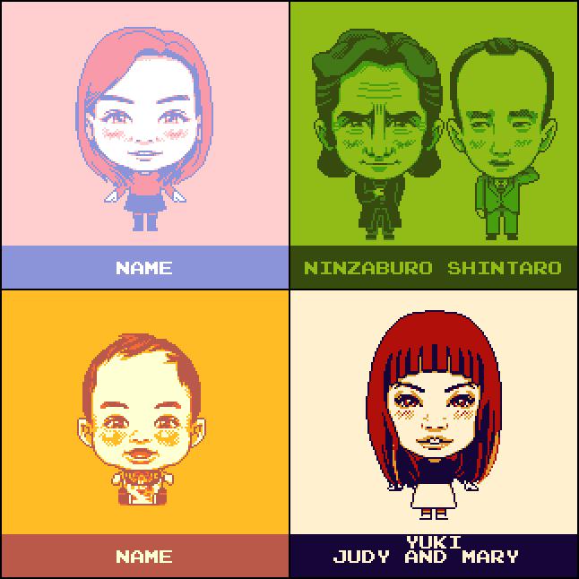 【ドット絵】 ■ゲームボーイ風■ 似顔絵アイコン描きます!