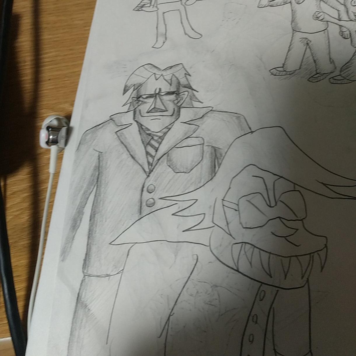 少し変わったイラストを描きます 変わった絵を必要としてる方にオススメです。