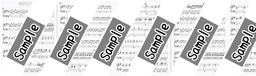ソフトを使った譜面を作成いたします 手書き譜面の清書やバンドスコアの書き出しなど イメージ1