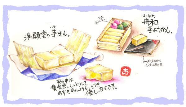 食べ物・お菓子のイラストをお描きします 水彩・ふんわり系で食べ物のイラストをお描きします!
