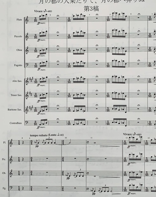 二重奏からオーケストラ、吹奏楽まで、編曲いたします やりたい曲を、やりたい人たちと、聴いてもらいたい人たちへ。