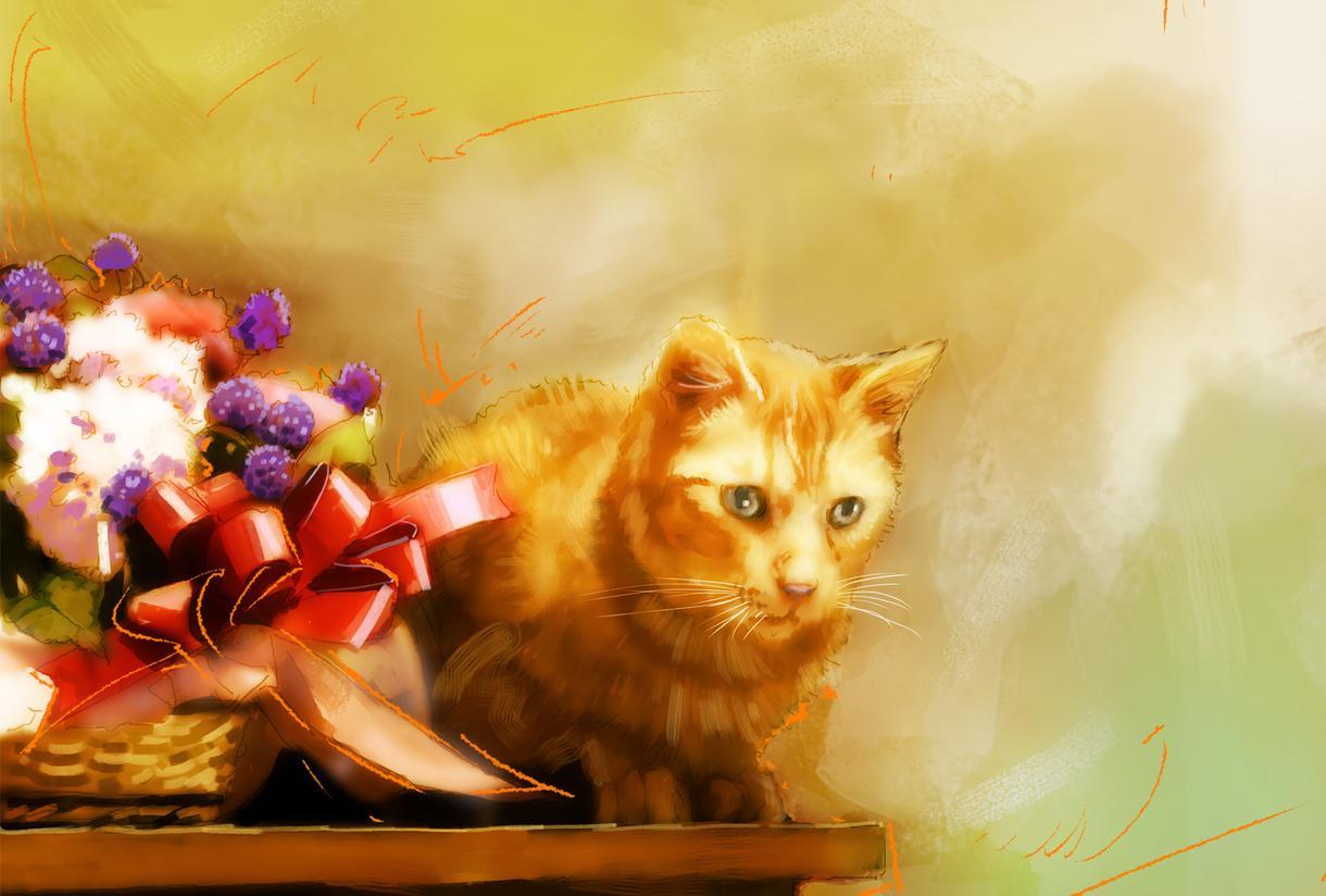 ペットの肖像画描きます 大切な方へのプレゼントにもどうぞ