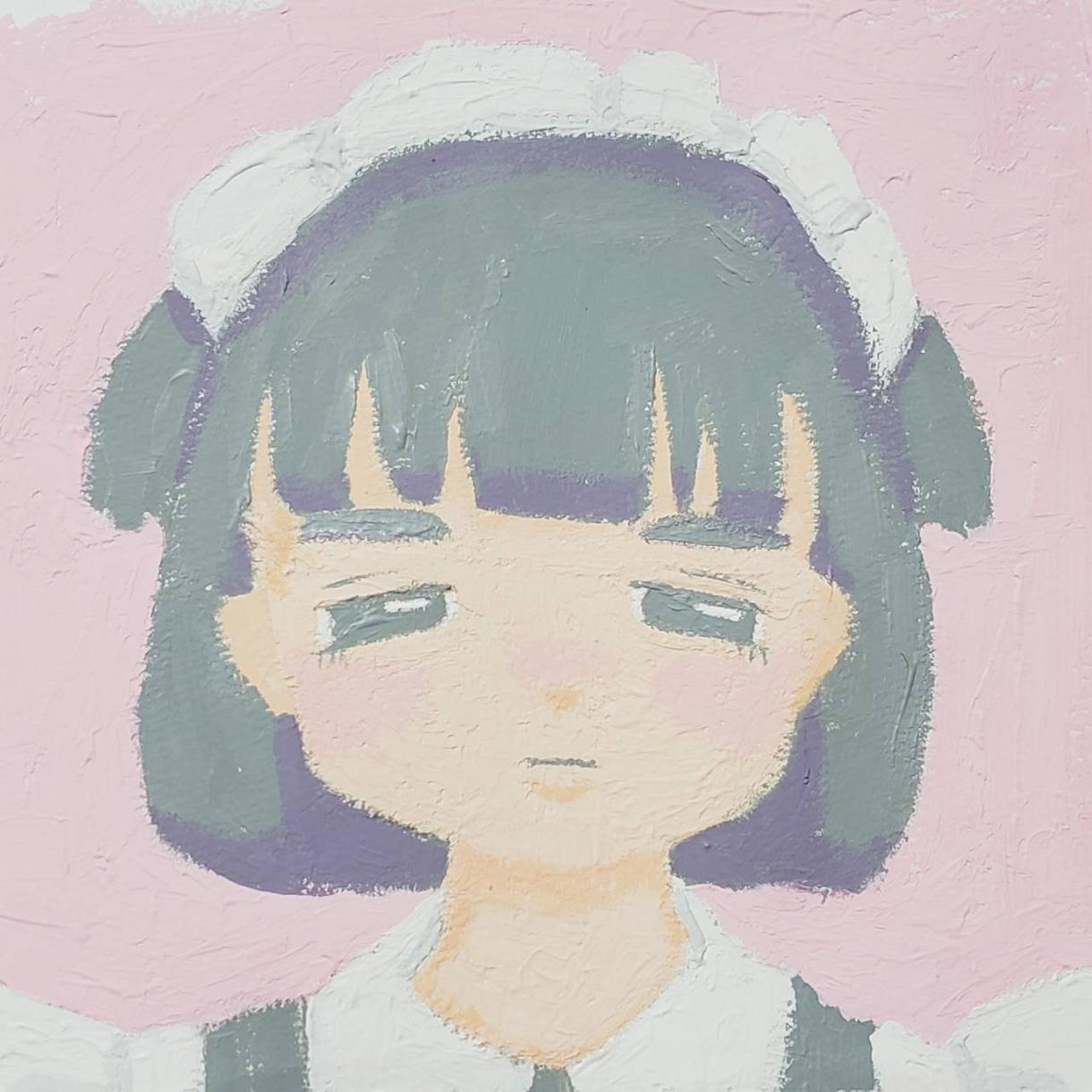イメージに合う絵を描きます アナログ、デジタルでイメージに沿った女の子を描きます!