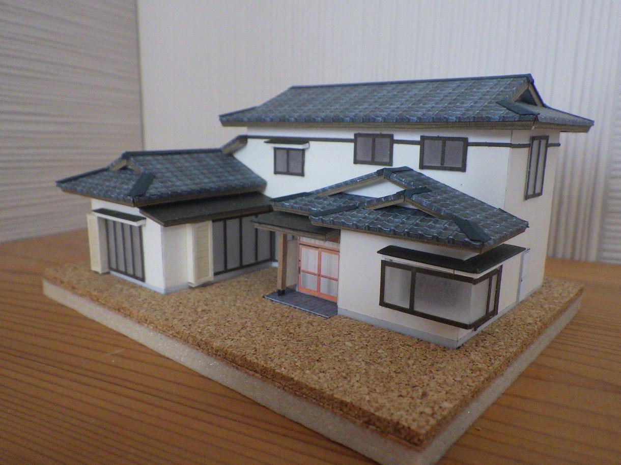 建替え前の旧住宅等の思い出に建築模型を製作します 被災住宅など無くなってしまう建物の思い出を形に・・・