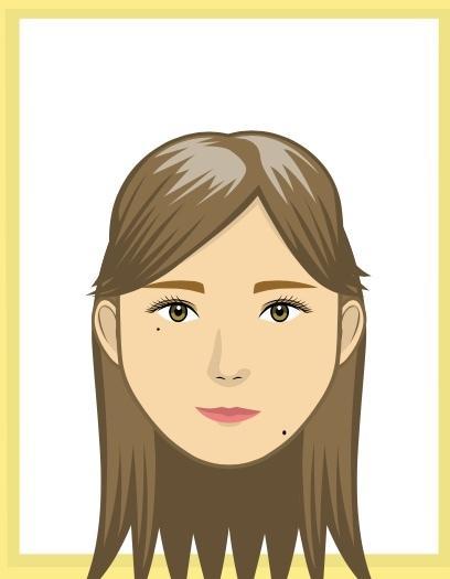 似顔絵アプリ(アバクリ)であなたの似顔絵つくります SNSのアイコンにおすすめです❤︎