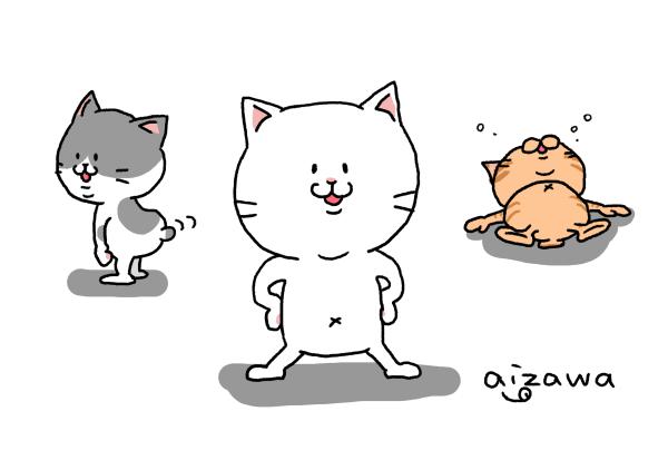 猫の絵、猫のイラスト(ペットでも!)を描きます デフォルメ、リアル両方可能(/・ω・)/ イメージ1