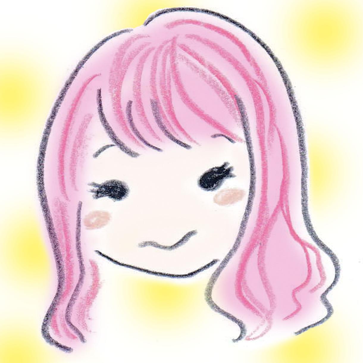 色鉛筆・手描きで○ゆる〜い似顔絵○描きます 【値下げ中】アイコンや贈り物に★かわいげを添えたいあなたに