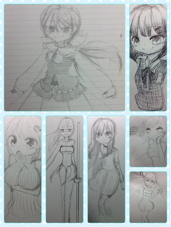 女の子のイラスト描きます!