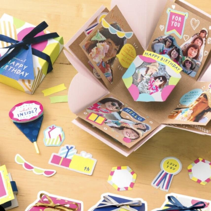 サプライズボックス/デコレーションブック作ります 誕生日など記念日に大切な人に感動するもの送りませんか?