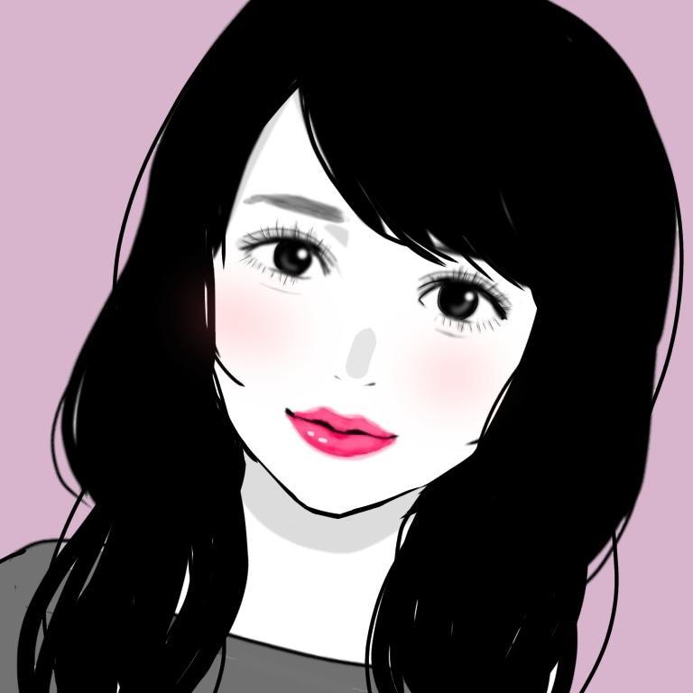 モノトーンの「盛れる」似顔絵描きます ☆SNS、LINEなど☆ オシャレでキレイなアイコンに♪ イメージ1