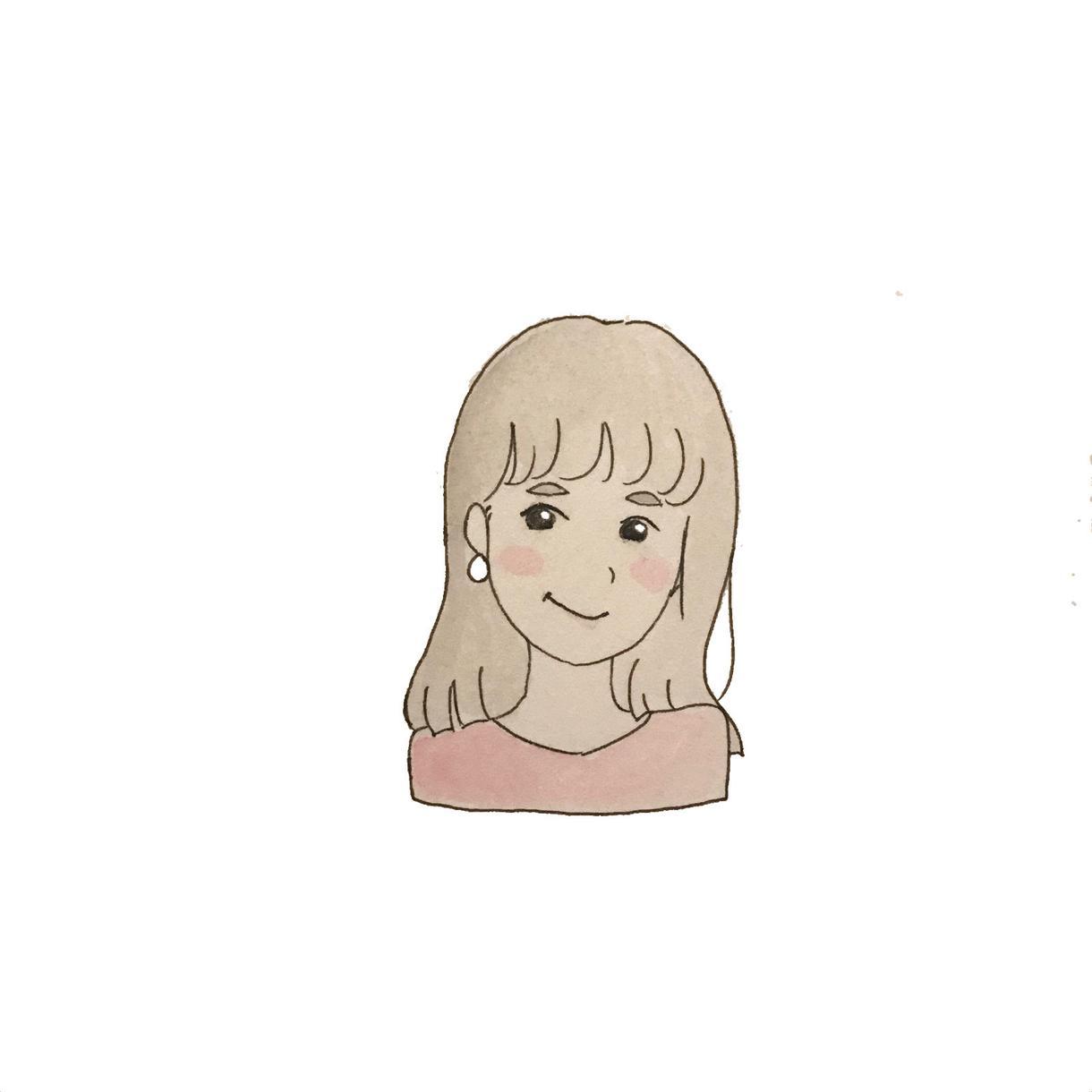 やわらかい雰囲気で似顔絵を描きます アイコンやちょっとした贈り物に イメージ1