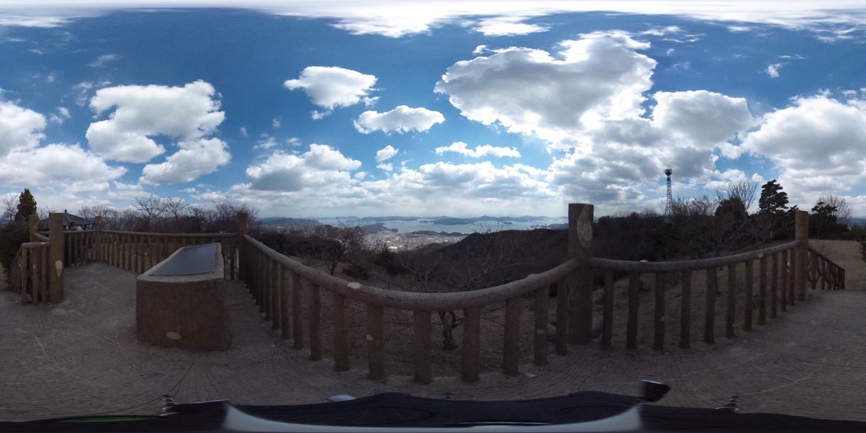 広島の360°パノラマ風景動画を撮ってお届けします