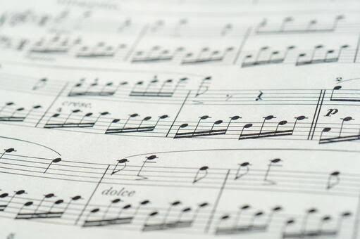 ご希望の音源、耳コピして楽譜にいたします 藝大卒業生があなたのために楽譜を作ります! イメージ1